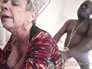 Breasty Granny in Creampie Clip blonde films