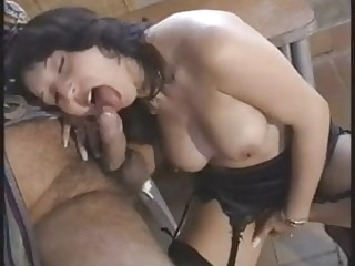 Pretty Italian woman rear fucked by older man old & films