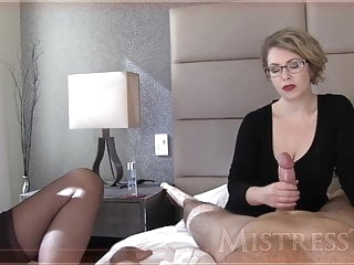 Mistress T jerks a dick mature films