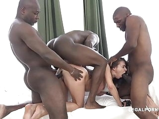 Russian sex machine Alina hard gangbang anal films