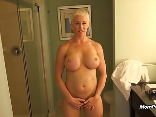 Busty MILF is a total freak mature films