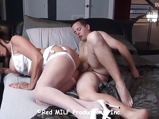 21Birthday gift-countless seed dumps inside Mrs.STEELE WOMB brunette films