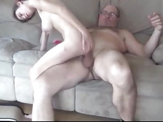 Daddy with MONSTER COCK blowjob films
