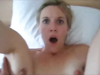 A CUTE BLONDE SURPRISED BY A PAINFUL ANAL amateur films