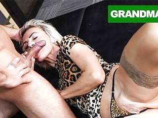 Sluttiest Granny Craving for Creampie blowjob films