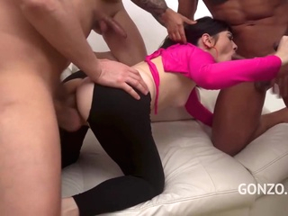 Holly Hole is trying DAP and TAP and it looks like she likes it a lot anal films